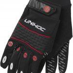 12614 Goalie gloves Champion black red